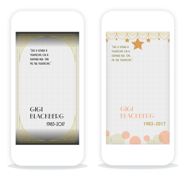 Geofilters Create Custom Geofenced Funeral Stickers