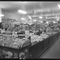 Interior of an SS Kresge five-and dime store in Rhode Island.